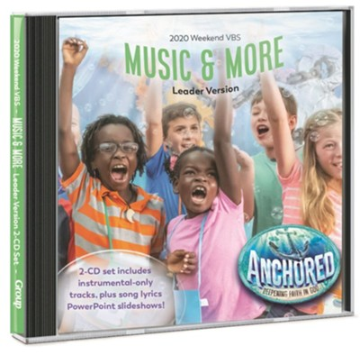 Anchored: Music & More Leader Version 2-CD Set  -