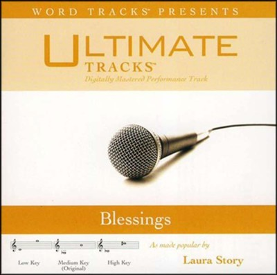 Blessings, Accompaniment CD   -     By: Laura Story