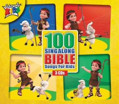 100 Sing-Along Bible Songs for Kids, 3-CD Set   -     By: Cedarmont Kids