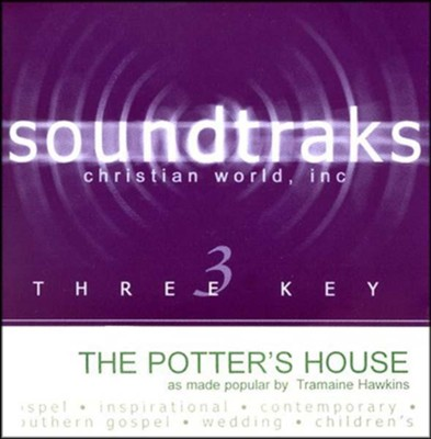 The Potter's House, Accompaniment CD   -     By: Tramaine Hawkins