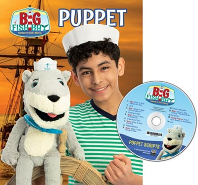Big Fish Bay: Puppet Scripts & CD  -     By: Big Fish Bay