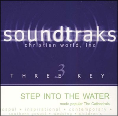 Step Into The Water, Accompaniment CD   -     By: The Cathedrals