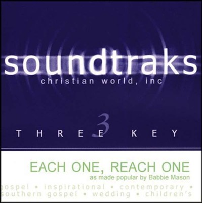 Each One, Reach One - Accompaniment CD   -     By: Babbie Mason
