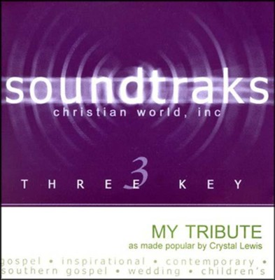 My Tribute, Accompaniment CD   -     By: Crystal Lewis