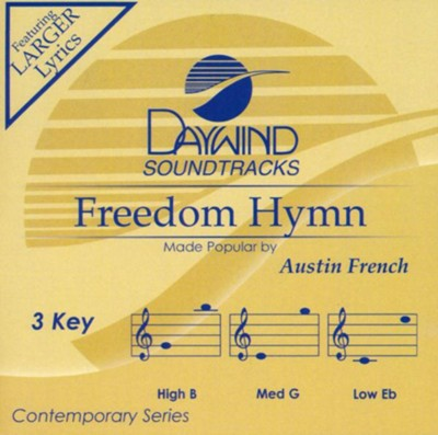 Freedom Hymn, Accompaniment Track  -     By: Austin French