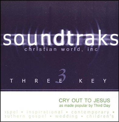 Cry Out To Jesus, Accompaniment CD   -     By: Third Day