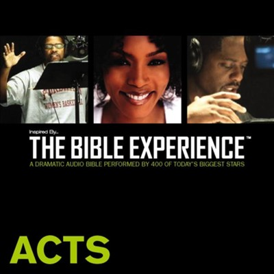 Inspired By The Bible Experience: Acts - Unabridged Audiobook  [Download] -
