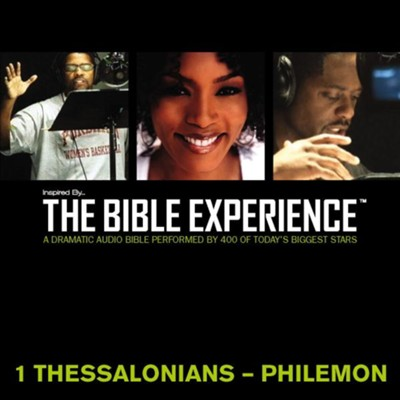 Inspired By The Bible Experience: 1 Thessalonians - Philemon - Unabridged Audiobook  [Download] -