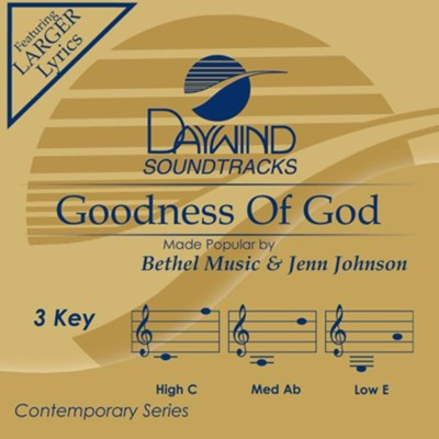 Goodness Of God  [Music Download] -     By: Bethel Music, Jenn Johnson