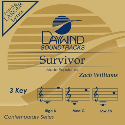 Survivor  [Music Download] -     By: Zach Williams