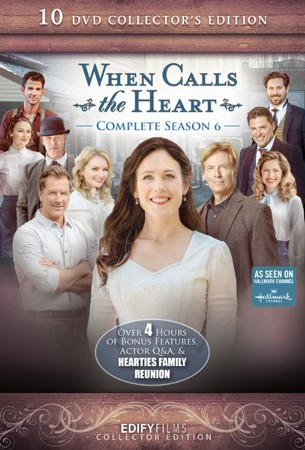 When Calls The Heart Christmas 2019.When Calls The Heart Complete Season 6 10 Dvd Collector S Edition