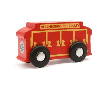 Mr Rogers Track Size Trolley Christianbook Com