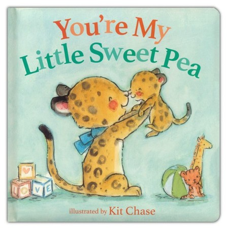 You're My Little Sweet Pea Boardbook