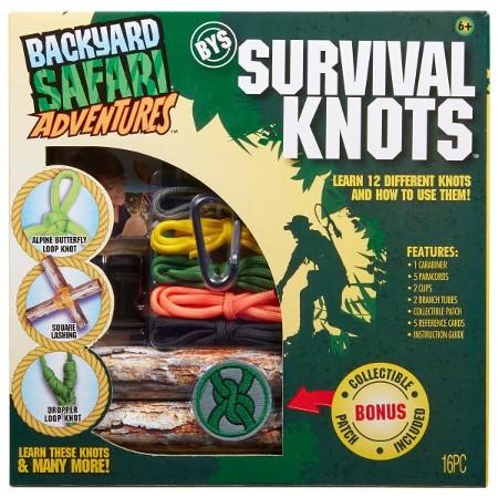 Backyard Safari Adventures: Survival Knots