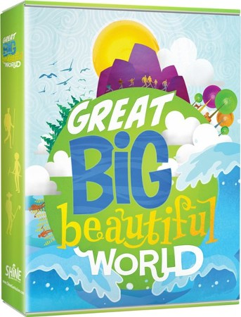 Image result for great big beautiful world logo