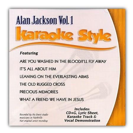 Alan Jackson Vol 1 Karaoke Cd