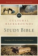 NIV Cultural Backgrounds Study Bible
