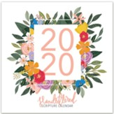 2020 Hand-Lettered Caligraphy Scripture Wall Calendar