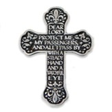Motorist Prayer Visor Cross
