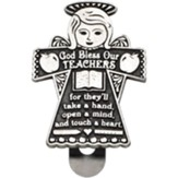 Teacher's Prayer Visor Clip
