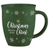 Christmas Begins With Christ Mug