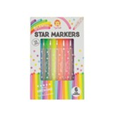 Scented Star Markers, Pack of 6