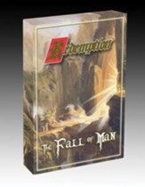 The Fall of Man set is 147 cards plus 18 Legacy Rare cards. Each pack contains 15 cards. 5 Fall of Man cards plus 10 additional Redemption game cards from previous sets.