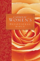 NRSV Catholic Women's Devotional Bible, Softcover - Slightly Imperfect