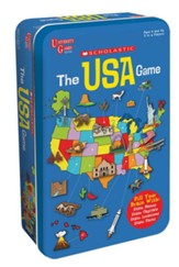 Scholastic The USA Game Tin
