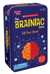 Scholastic The Brainiac Game Tin