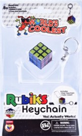 World's Coolest Rubik Keychain