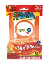 World's Smallest Hot Wheels Stunt Action Set