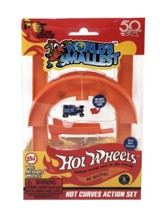 World's Smallest Hot Wheels Mini Curves Action Set