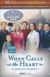When Calls the Heart: Complete Season 5, 10-DVD Collector's  Ed. - Slightly Imperfect