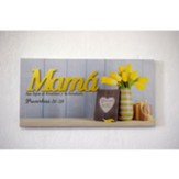 Mama, Lienzo (Mom, 3D Canvas Wall Art)