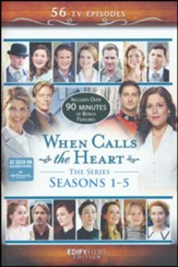 When Calls the Heart Complete Seasons 1-5, 12 DVD Collector's Edition - Slightly Imperfect