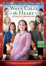 When Calls the Heart: The Greatest Christmas Wish, DVD