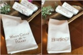 When Calls the Heart Tea Towels, Brown (pkg. of 3)