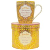 Grandma Each Day Shines Because You Are In the World Boxed Mug