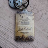 Grande es tu fidelidad, Llavero acrilico (Great is Your Faithfulness, Acrilic Keychain)