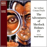 The Adventures of Sherlock Holmes, Volume 4, Unabridged Audiobook on CD