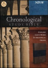 NIV The Chronological Study Bible,  Imitation Leather, Midnight Blue