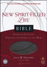 NLT New Spirit Filled Life Bible,  Imitation Leather, Rich Stone
