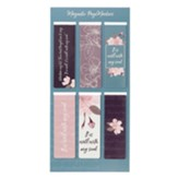 It is Well With My Soul Magnetic Bookmarks, Pink (Set of 6)