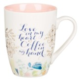 Mug Ceramic Love and Coffee