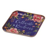 Cultivate Kindness Metal Trinket Tray