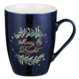 Merry and Bright Ceramic Mug