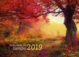 Todo tiene su tiempo, Calendario de pared 2019  (2019 Wall Calendar Everything Has Its Time)