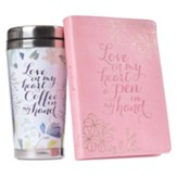Love In My Heart, Journal and Mug Gift Set