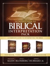 Introduction to Biblical Interpretation Pack